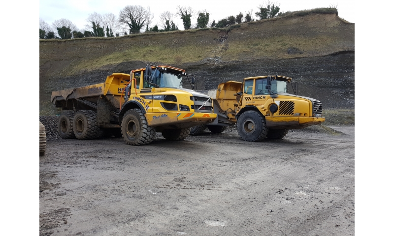 Dump Truck Hire Dumper Trucks for Hire Ireland Plant